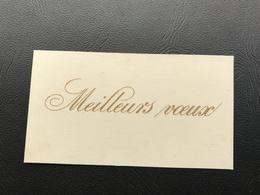 MEILLEURS VOEUX (relief Doré) 1925 - Año Nuevo