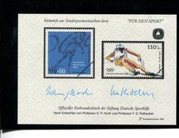 589681627 DUITSLAND 1998 FARBSONDERDRUCK  FUR DEN SPORT - Germany
