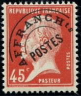 Lot N°4258 France Préoblitéré N°67 Neuf  ** LUXE - Préoblitérés