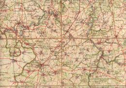 Thuin Beaumont  Chimay Mariembourg Philippeville Florennes Walcourt Rance Thy Le Chateau Thuillies  Ham Sur Heure - Geographical Maps