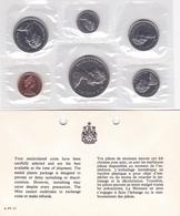 Canada, Kursmünzensatz 1972, Course Coin Set 1972 - Canada