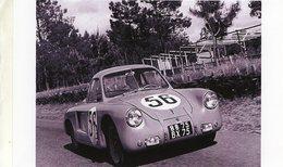 Vernet Et Pairard Coupe Derivé Renault 4CV Spider - 24 Heures Du Mans 1953  - Pilote:Just-Emile Vernet   -  15x10 PHOTO - Le Mans