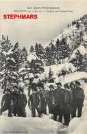 CPA 05 : BRIANCON - LES SOLDATS EN POSTE L'HIVER - Les Alpes Pittoresques - édition Louis Bonnet - Briancon