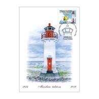 ESTONIA 2018 Lighthouse Manilaid Manilaiu Maximum Card MC - Leuchttürme