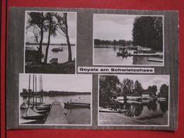 "Schwielochsee (Amt Lieberose/Oberspreewald) - Mehrbildkarte ""Goyatz Am Schwielochsee"" - Schwielowsee"