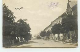 POLOGNE - MAKOW - Une Rue - Polen