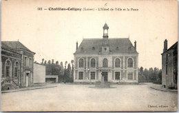 45 CHATILLON COLIGNY - L'hotel De Ville Et La Poste - Chatillon Coligny