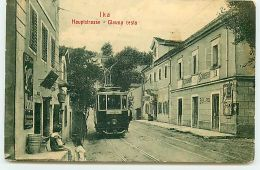 Croatie - Ika - Hauptstrasse - Glavna Cesta - Tramway - Croatie