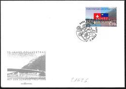 Liechtenstein: FDC, Bandiere, Drapeaux, Flags - Buste