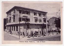 """Cartolina/postcard Pensione Ideale """"Bellariva"""" - Lido Di Rimini. 1951 - Rimini"""