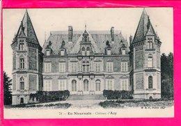 Cpa  Carte Postale Ancienne - Chateau D Azy - Autres Communes