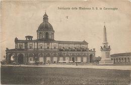 X2906 Caravaggio (Bergamo) - Santuario Della Madonna Beata Vergine / Viaggiata 1917 - Autres Villes