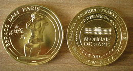 France Espace Dali Montmartre Venus De Milo PAr Salvatore Dali Monnaie De Paris 2016 Paypal Skrill Bitcoin - 2016