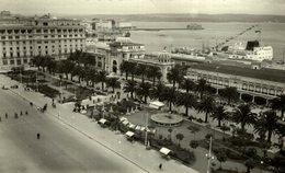 LA CORUÑA - VISTA DE LA BAHIA Y HOTEL EMBAJADOR - La Coruña