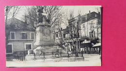 84 Vaucluse, Cavaillon, Monument Et Place Gambetta, 1919 - Cavaillon