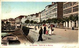 LA CORUÑA - CALLE DE LA MARINA - La Coruña