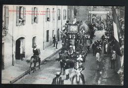 30, Besseges, Cavalcade Du 3 Septembre 1905, Char De L'imprimerie Julien - Bessèges
