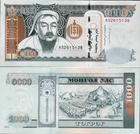 Mongolia 2013 - 1000 Tugrik - Pick 67 UNC - Mongolia