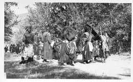 AFRIQUE NOIRE  = Cérémonie/danse /initiation  Sorciers Garçons Filles Village : 5 Cartes - Postcards