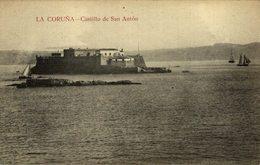 LA CORUÑA - CASTILLO DE SAN ANTON - La Coruña