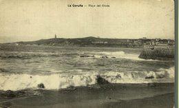 LA CORUÑA - PLAYA DEL ORZAN - La Coruña