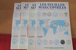 Feuilles Marcophiles Année 1999 + Marcophilex - Riviste
