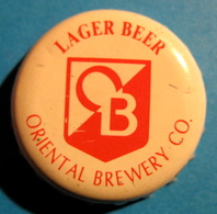 CAPSULE O B ORIENTAL BREWERY CO. LAGER BEER - Cerveza