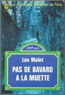 LEO MALET /  NESTOR BURMA PAS DE BAVARD A LA MUETTE LES NOUVEAUX MYSTERES DE PARIS LIVRE DE POCHE CHAT HERISSE B13 - Leo Malet