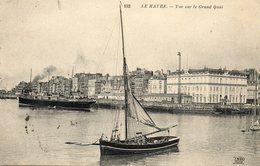 LE HAVRE....vue Sur Le Grand Quai - Portuario