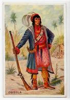 CPSM Indiens Indien Non Circulé Voir Scan Du Dos Osceola - Native Americans