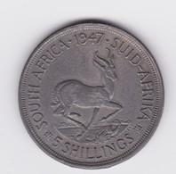 5 Shillings 1947  TTB - Afrique Du Sud