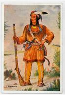 CPSM Indiens Indien Non Circulé Voir Scan Du Dos Tecumseh - Native Americans