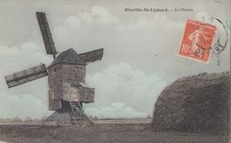 CARTE POSTALE DE OINVILLE SAINT LIPHARD  / LA BEAUCE / MOULIN A VENT - Autres Communes