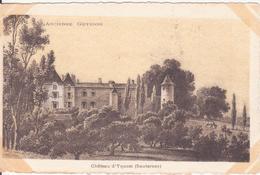 CPA - Château D' YQUEM (Sauternes) - France