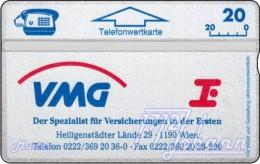 TWK Österreich Privat: 'VMG - Die Erste' Gebr. - Oesterreich