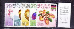 TIMBRE.................KENYA N° 15/19 - Kenya (1963-...)