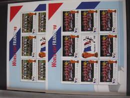 MSV-BK1-XXX MMA MINT ¤ FRANKRIJK FRANCE 1998 32 Sheets In Stockbook  ¤ FRANCE 98 COUPE DU MONDE - SOCCER - FUSSBAL - - Coupe Du Monde