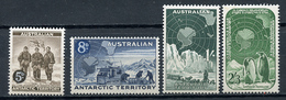 1959 - ANTARTICO AUSTRALIANO - Mi. Nr. 2/5 - NH - (CW4755.2) - Territorio Antartico Australiano (AAT)