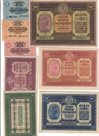 Cassa Veneta Dei Prestiti 100+20+10+2+1 Lira + 50+10+5 Cent 1918  Buone Ottime Conservazioni LOTTO 688 - [ 6] Colonies