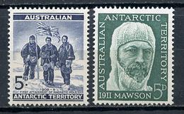 1959 - ANTARTICO AUSTRALIANO - Mi. Nr. 6+7 - NH - (CW4755.2) - Territorio Antartico Australiano (AAT)