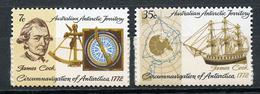 1972 - ANTARTICO AUSTRALIANO - Mi. Nr. 21/22 - NH - (CW4755.2) - Territorio Antartico Australiano (AAT)