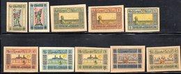 740 490 - AZERBAIGIAN 1920, Unificato Serie N. 1A/10A  Nuovi  * - Azerbaijan