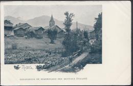 Switzerland Postcard - Sanatorium De Beauregard Sur Montana (Valais)   DC1599 - VS Valais