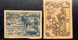 742 490 - AZERBAIGIAN 1921, Pro Affamati Unificato  N. 11/12  Nuovi - Azerbaijan