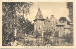 Havay NA1: Château De Beauvoir. Facade Sud-Est - Quévy