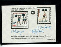 589742221 DUITSLAND 1991 FARBSONDERDRUCK  FUR DEN SPORT - Germany