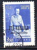 748 490 - CARELIA 1942 , Unificato  N. 20  Usato . - Finland