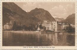 X2924 Riva (Trento) - Lago Di Garda - La Rocca Vista Dal Lago - Panorama / Non Viaggiata - Other Cities