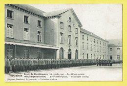 * Ruiselede - Ruysselede * (Standaert) école De Bienfaisance, School, Grande Cour, élèves Au Rang, TOP, Enfants, Rare - Ruiselede