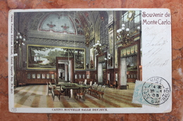 MONACO - SOUVENIR DE MONTE CARLO - CASINO NOUVELLE SALLE DES JEUX - Monte-Carlo
